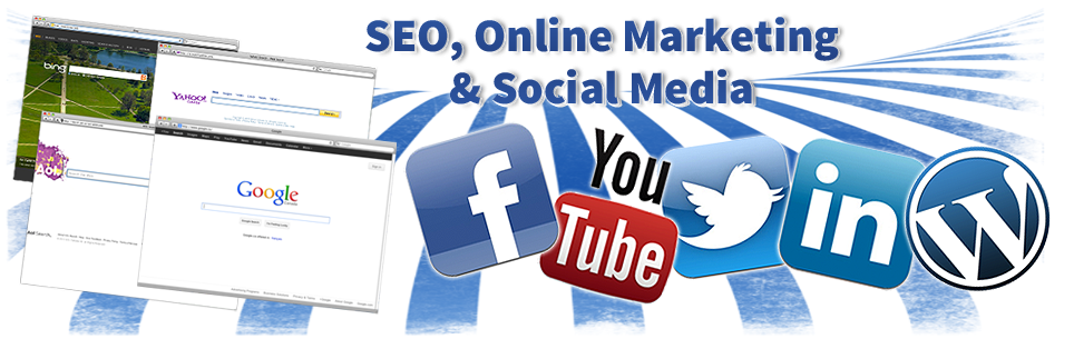 Search Optimization, Google Adwords and Social Media Marketing
